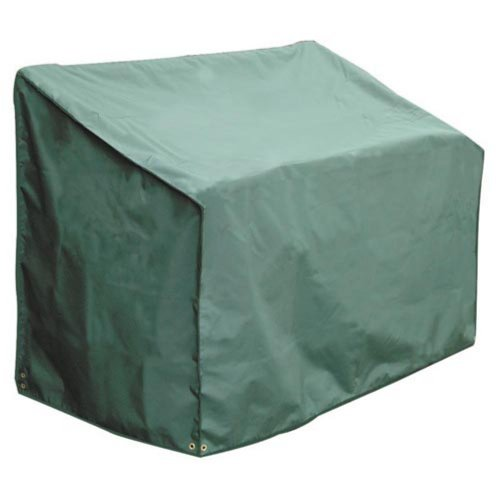 Bosmere Weatherproof 4-Seat Bench Cover, 76' Long x 26' Deep x 35' High Back x 25' Front, Green