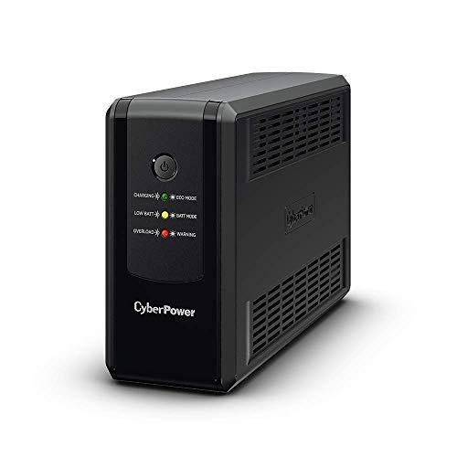 Cyberpower UT650EIG Ut Series, 650Va/360w, 4 IEC Outlets, AVR, Mini-Tower, GENERATOR Compatible