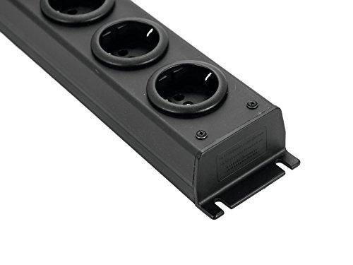 APSA Verteiler 6-fold PVC bk