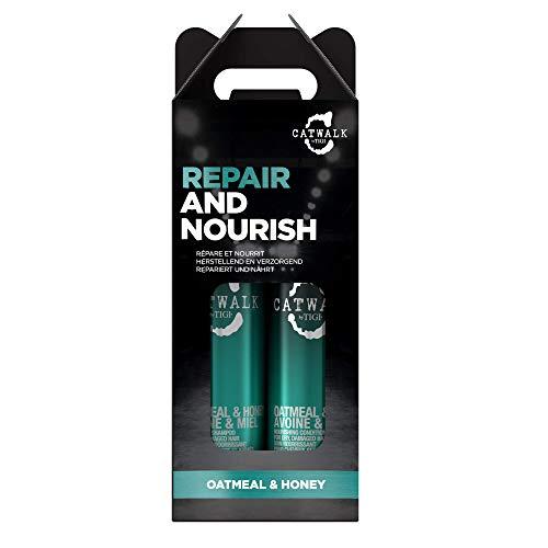 Catwalk by Tigi Oatmeal& Honey Shampoo und Conditioner für geschädigtes Haar