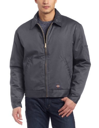 Dickies Men's Big-Tall Insulated Eisenhower Jacket, Charcoal, X-Large Tall