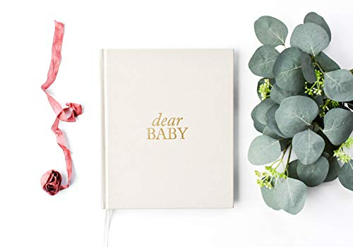 Dear Baby: A Pregnancy Prayer Journal and Memory Book for Expecting Moms - Cream