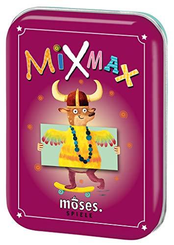 moses. Mix Max, Spiele-Klassiker in der Metalldose, Für Kinder ab 4 Jahren