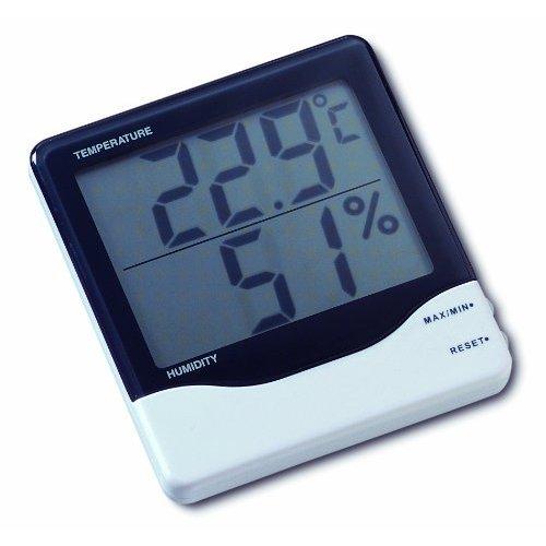 Elektronisches Thermo-Hygrometer Luftfeuchtigkeits und Temperatur Raumüberwachung 305002