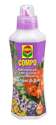 COMPO Nutrimento per Tutte le Piante contenente Sangue di Bue, Con tappo dosatore, 1 kg