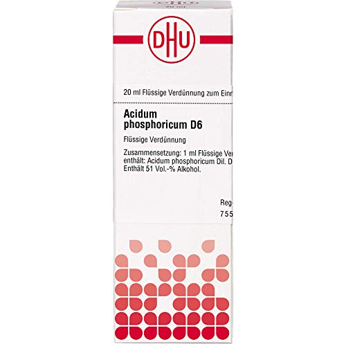 DHU Acidum phosphoricum D6 Dilution, 20 ml Lösung