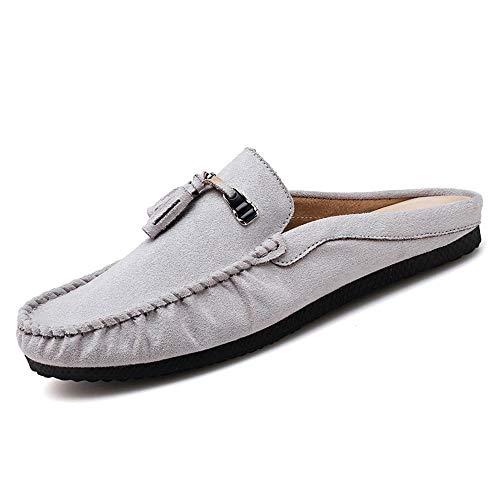 BBTK Zapatos para Hombres Mocasines de conducción para Hombres Mocasines de Barcos...