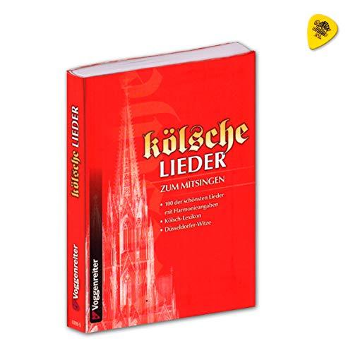 kölsche Lieder zum Mitsingen - 100 der schönsten Lieder mit Harmonieangaben - Kölsch-Lexikon, Düsseldorfer-Witze - Songbook mit Dunlop Plek