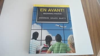 Hardcover EN AVANT! Beginning French (INSTRUCTOR'S EDITION) Book
