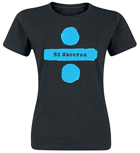 Ed Sheeran Divide Logo T-Shirt schwarz L