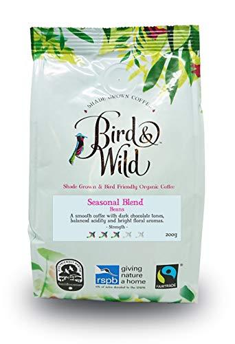 Mezcla tostado medio de Bird & Wild, 200g café en grano