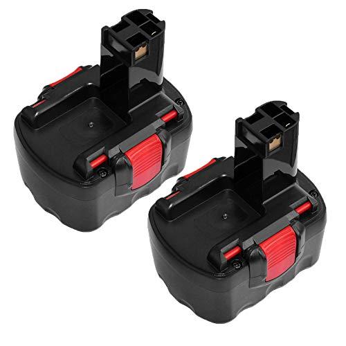 2X Venghts BAT038 Sostituzione per Bosch 14.4V 2.0Ah Batteria BAT038 BAT140 BAT159...