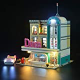 icuanuty Kit de Iluminación LED para Lego 10260, Kit de Luces Compatible con Lego Restaurante del Centro (No Incluye Modelo Lego)