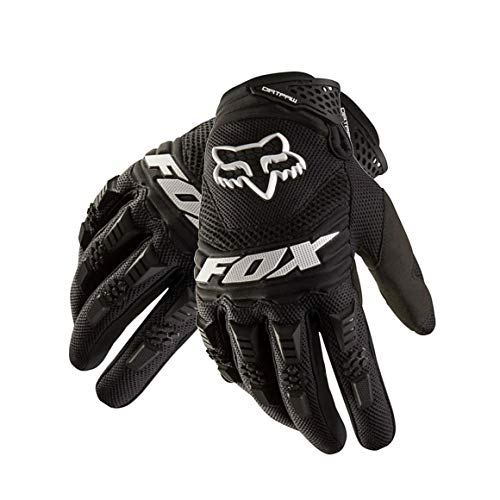 Funnyrunstore Racing Bike Outdoor Guantes de conducción cómodos Motocicleta Off-Road Wear Escalada Guantes Largos de Carreras de Dedos