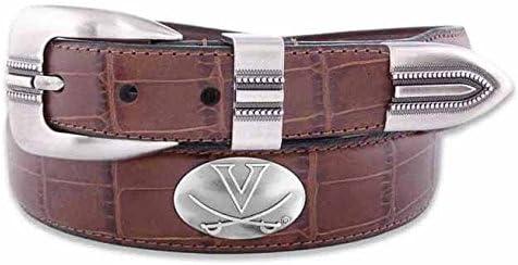 ZeppelinProducts Sale UVA-BOLPTCRC-TAN-34 Virginia Concho Tan Le High material Croc