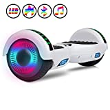 jolege Hoverboard, 6.5' Two-Wheel Self Balancing Hoverboards - LED Light Wheel Scooter for Kids Adult