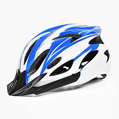 Yaxing Casco de Ciclo,Casco de Bicicleta de montaña,Casco de Ciclismo Ajustable,Casco de Seguridad cómodo y Transpirable,para monopatín MTB Bicicleta de montaña y Carretera