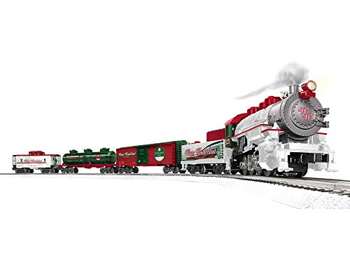 Lionel Trains - Winter Wonderland LionChief Set with Bluetooth, O Gauge, Multi (1923150)