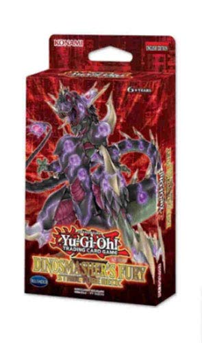 Yugioh TCG Dinosmasher's Fury Unlimited Structure Deck - 42 Cards