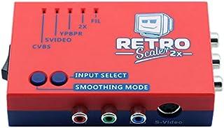 Exanko Convertisseur une / V Vers et Doubleur de Ligne pour Consoles de Jeu Rétro Ps2 / N64 / Nes / Sega Dreamcast / Satur...