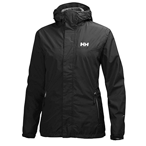 Helly Hansen Damen W HUSTAD CIS Jacket Jacke, Black, L