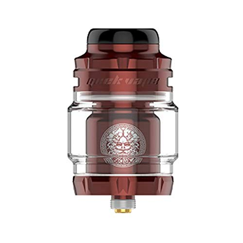 Originale GeekVape Zeus X Mesh RTA Tank 4.5ml Modular Duild Deck Mesh Coil Vaporizzatore a tenuta stagna Sigaretta elettronica Vape Atomizzatore wine red