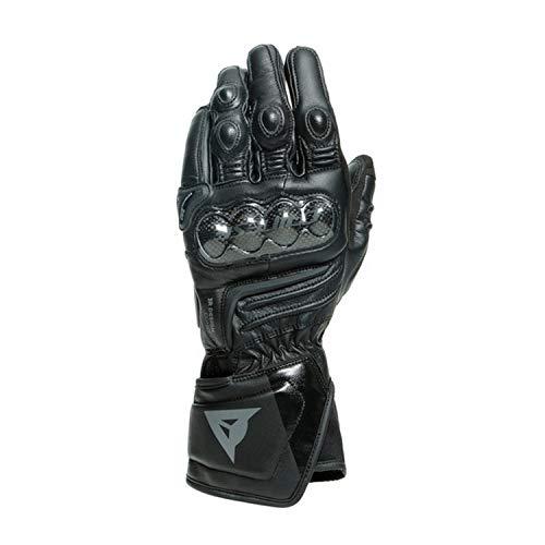 Dainese Carbon 3 Long Motorradhandschuhe Schwarz XL