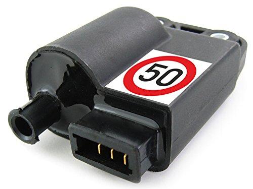 Standard Ersatz CDI Piaggio Zip 50 2-Takt (alle, z.B. Zip 1, 2, SP, Base, RST, Fast Rider) (CDI besitzt integrierte Zündspule)