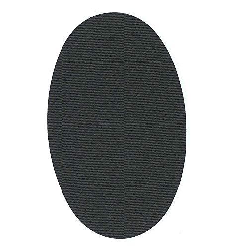 1 par rodilleras color gris oscuro termoadhesivas de plancha. Coderas para proteger tu ropa y reparación de...