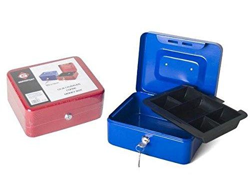 Cassetta portavalori 20x 16cm metallo