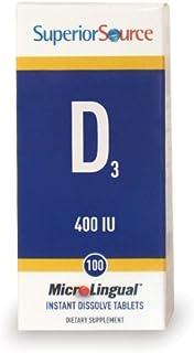 Superior Source Vitamin D3 400 IU (100 tablets)