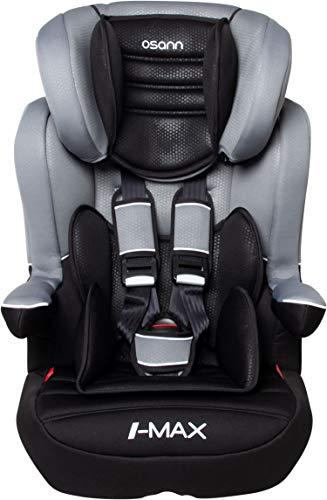 Osann Kinderautositz I-Max SP Gruppe 1/2/3 (9-36 kg) Luxe Gris