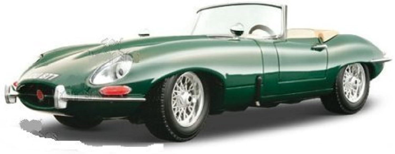 Garantía 100% de ajuste BBurago oro - Jaguar  E  Cabriolet Converdeible Converdeible Converdeible (1961, 1 18, verde) diecast Coche model  mejor reputación