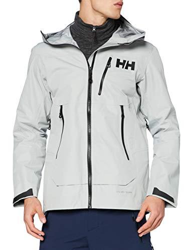 Helly Hansen Odin Mountain Infinity Pro Shell - Chaqueta para hombre, Hombre, Chaqueta, 63046, Espuma gris., medium