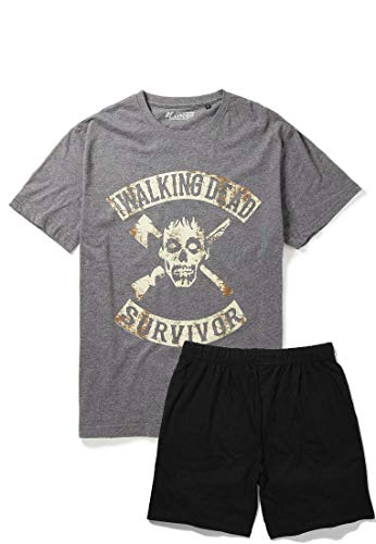 Recovered The Walking Dead Surviour - Pijama de carbón y