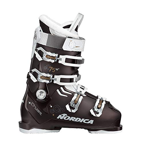 Nordica The Cruise 75 W Damen-Skistiefel 05065200-5R7 Black Pearl/White/Bronze Gr. 25