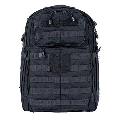 5.11 Tactical RUSH24 Military Backpack, Molle Bag Rucksack Pack, 37 Liter Medium, Style 58601, Dark Navy