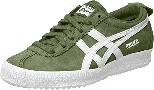 (EUR 36 US 4 UK 3, Grun (Chive/White)) - Asics Unisex Adults' Mexico Delegation Low-Top Sneakers