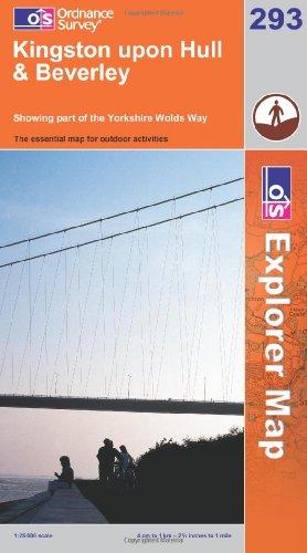 OS Explorer map 293 : Kingston upon Hull & Beverley