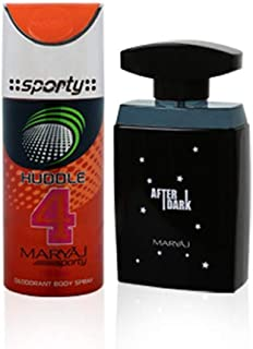 MARYAJ After Dark Gift Box For Men - (Edp 100 ml + Deo Spray 150 ml)