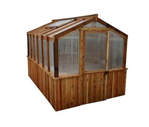 8'x12' Cedar Greenhouse