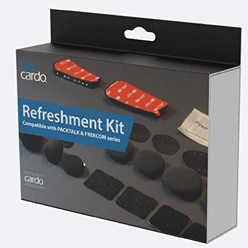 CARDO Unisex-Adult REFRESHMENT KIT FOR PAKTALK/FREECOM SERIES (Black, one_size)