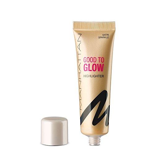 Manhattan Good to Glow Highlighter Couleur 1 Satin Sparkle 25 ml