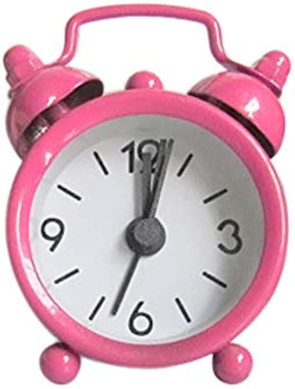 100% garantía genuina de contador Creativo Reloj De Alarma Lindo Lindo Lindo Mini Metal Pequeo Reloj De Alarma Electrónico Pequeo Ruidoso Reloj De Alarma E  El ultimo 2018