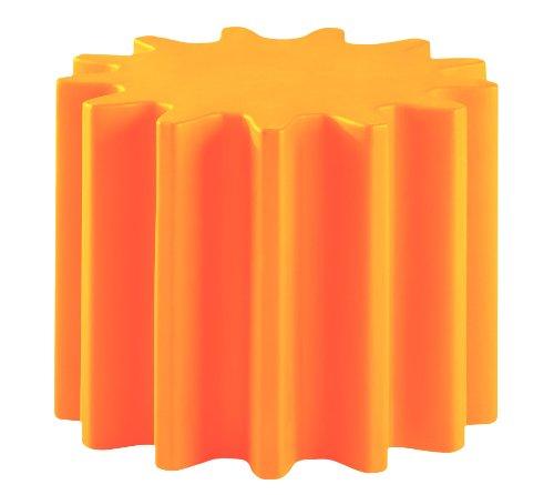 baladeur tabouret orange
