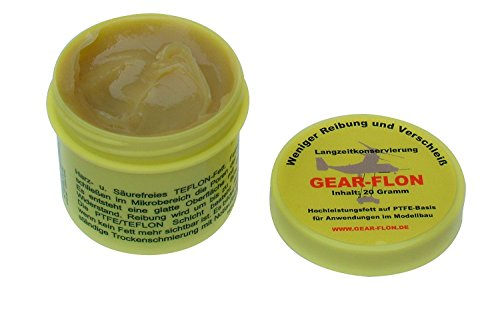 GEAR- FLON Hochleistungsfett mit Teflon