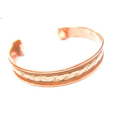 Big Save! Powerful Magnetic Copper Cuff Bracelet for Arthritis and Golf Sport Aches and Pains