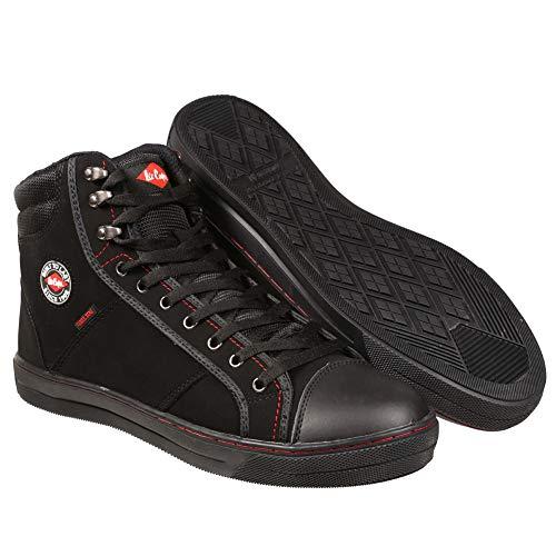 Lee Cooper Arbeitskleidung Unisex-Adult LCSHOE022 Sicherheitsschuhe, Black, 41 EU