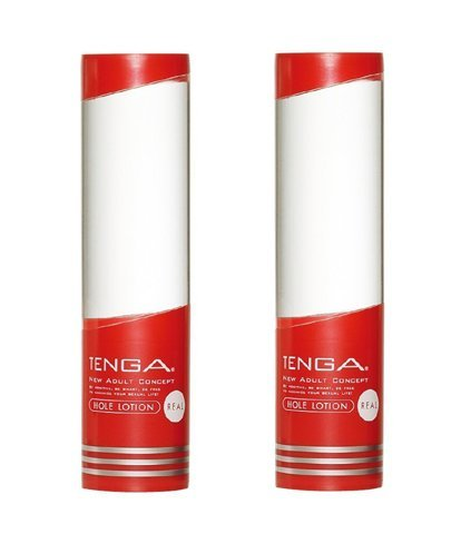 Tenga Flip Hole Lotion, Real Personal Lubricant 2 Bottles by Tenga