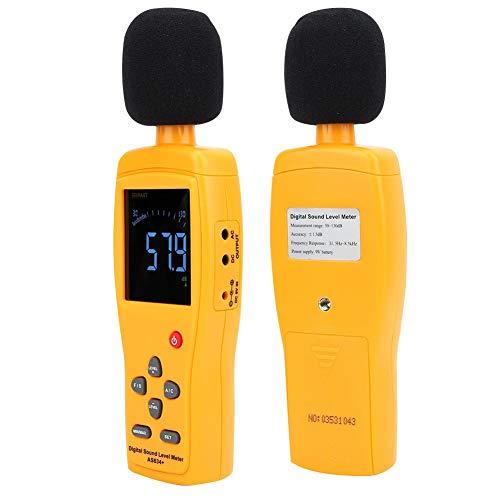 Decibelmeter, geluidsniveaumeter hoge precisie geluidsmeter, 30-130dBA 35-130dBC scholen huizen kantoren voor fabrieken